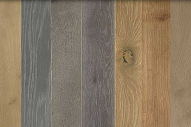 Hardwood Color Options