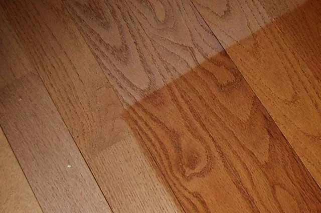 Fading Hardwood Floors