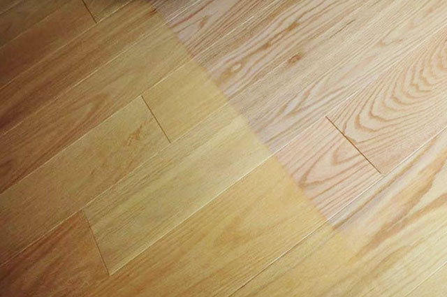 Sun Damaged Hardwood Floors