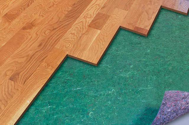 underlayment for hardwood floors