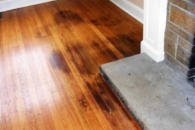 Hardwood Floor Spots